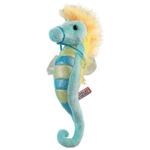 Sea Horse- Turquoise and Yellow