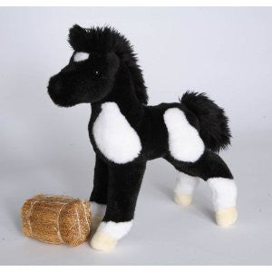 Runner the Black and White Paint Foal