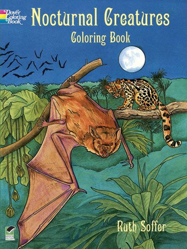 Nocturnal Creatures Coloring Book by Ruth Soffer