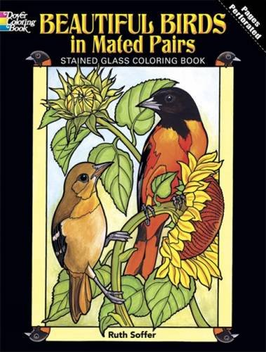Beautiful Birds in Mated Pairs Coloring Book