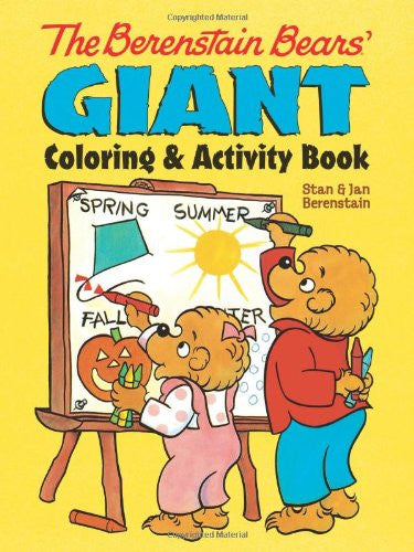 Berenstein Bear Giant Coloring and Activity Book
