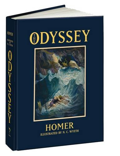 The Odyssey (Calla Editions) Hardcover -August 19, 2015 by Homer (Author), N.C. Wyeth (Illustrator), William Cullen Bryant (Translator)