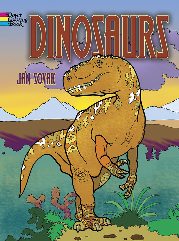 Dinosaures Coloring Book by Jan Sovak