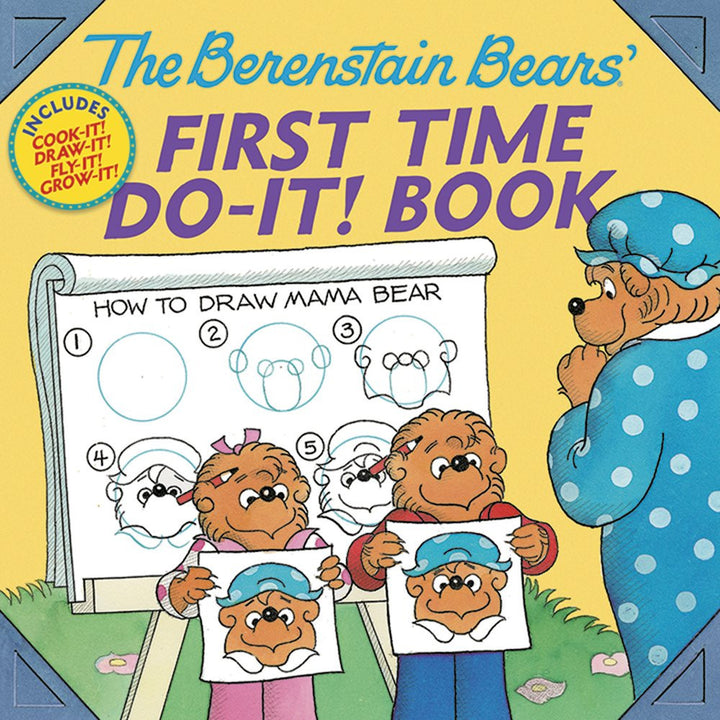 Berenstein Bears First Time Do It Book