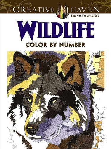 Creative Haven Wild Life Color by Number