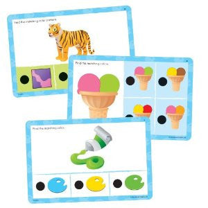 Hot Dots Jr. Cards - Colors