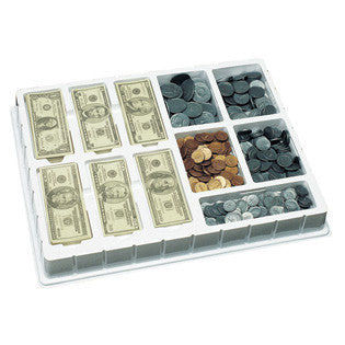 Play Money Coins & Bills Deluxe Set