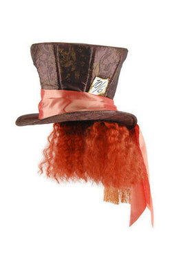 Alice in Wonderland Madhatter with Hair