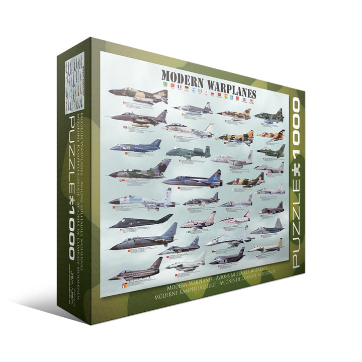 Modern Warplanes - 1000pc Puzzle
