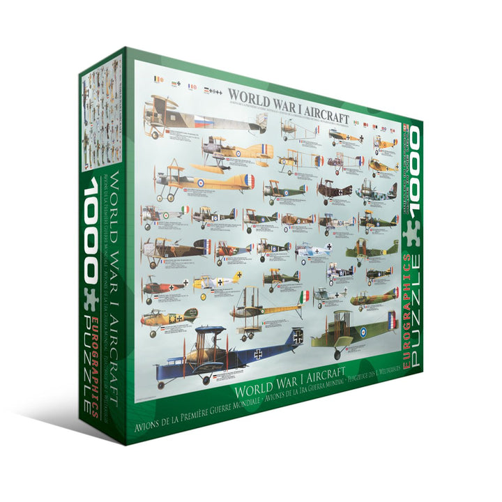 WWI Aircraft - 1000pc Puzzle