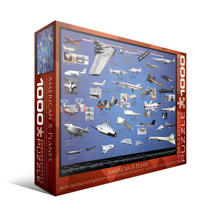 American X-Planes - 1000pc Puzzle