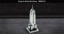 Metal Marvels - Empire State Building 3D Laser Cut Model