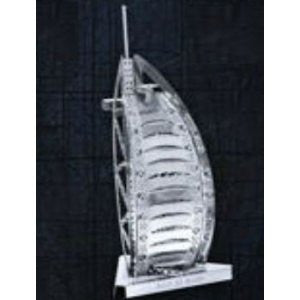 Metal Marvels Burj Al Arab 3D Laser Cut Models