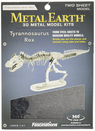 Metal Earth Tyrannosaurus Rex Skeleton 3D Metal Model Kit - Freedom Day Sales