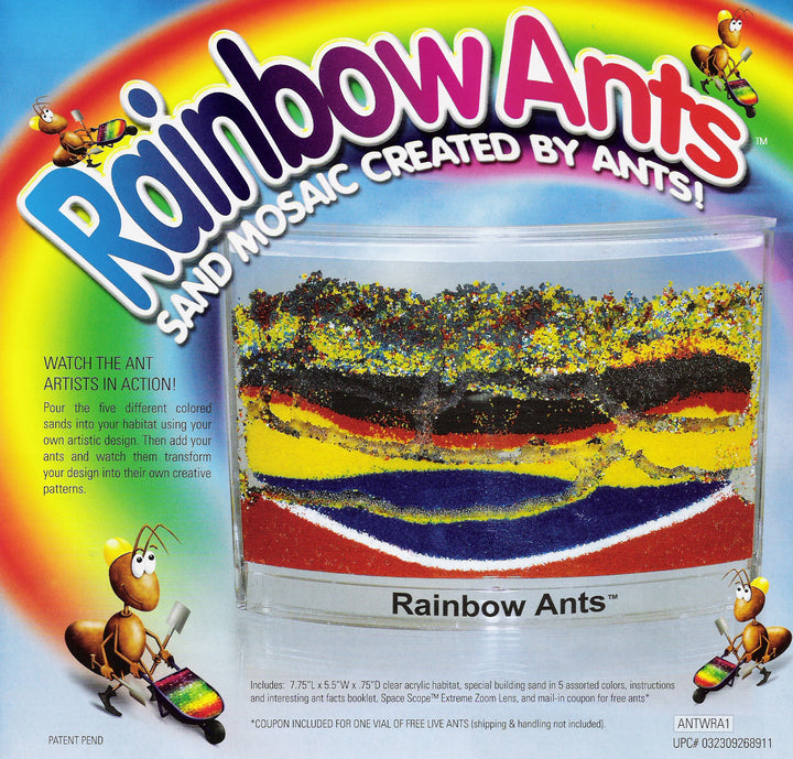 AntWorks Rainbow Ants with Assorted Colors