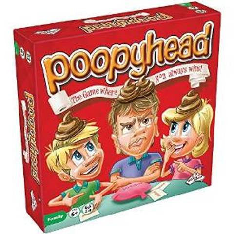 Poopyhead - The Game where No 2 always wins!