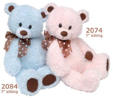 Blue Beary 7 in sitting