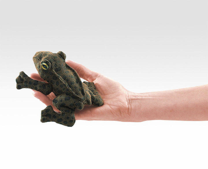 Folkmanis Mini Toad Finger Puppet