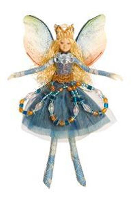 Bendable Jewel Fairy- Blue