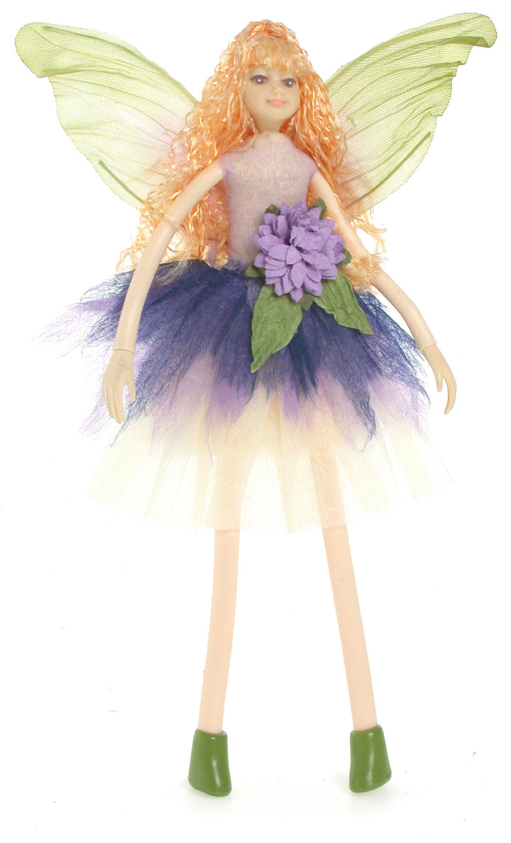 Bendable Lady Fairy- Purple