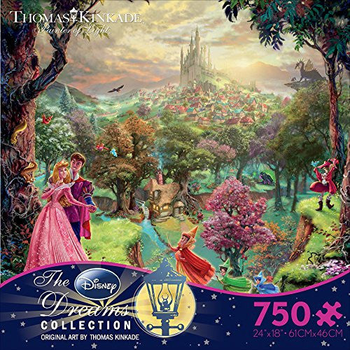 Thomas Kinkade The Disney Dreams Collection:750 Piece Puzzle-Sleeping Beauty