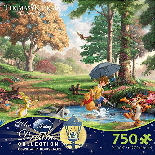 Thomas Kinkade The Disney Dreams Collection:750 Piece Puzzle-Winnie the Pooh 1