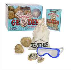 GeoCentral Deluxe Break Your Own Geodes Kit