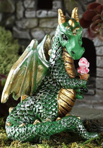 Georgetown Fiddlehead Fairy Garden Ice Cream Dragon