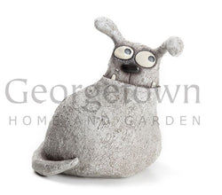 Blob House Giblet Dog Garden Sculpture