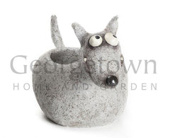 Blob House Alf the Dog Garden Planter