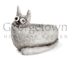 Blob House Fluffy the Cat Garden Planter