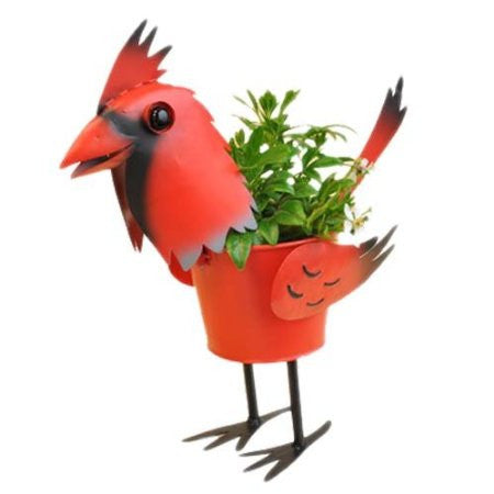 Mini Cardinal Bird Planter 4