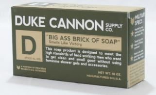 Big Ass Brick of Green Soap Bar-Smells Like Victory