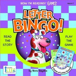 Nir! Games: Letter Bingo! (Now I'm Reading Games)