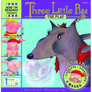 NIR! Plays: Three Little Pigs - Level 1 (Now I'm Reading! Plays