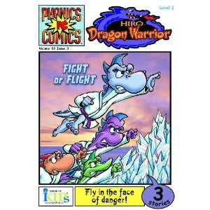 Phonic Comics - Hiro Dragon Warrior: Fight or Flight Level 2, Issue 3 (Phonics Comics: Level 2)