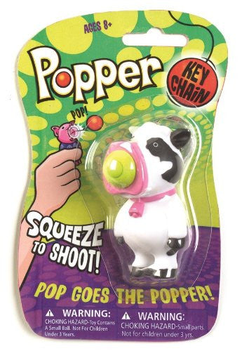 Keychain Popper- Cow