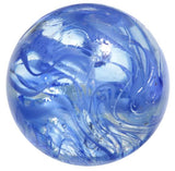 50mm Luster Spaghetti Marble-Blue