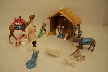 Boxed Nativity Set