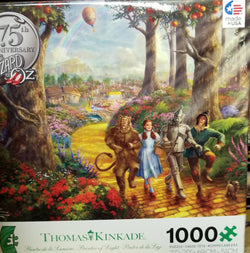 1000 puzzle Thomas Kincade Wizard of Oz 75th Anniversary