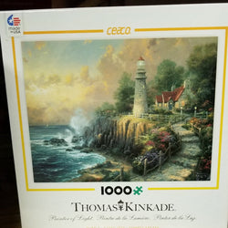 1000 pc Thomas Kincade Painter of Light Puzzle-Light of Peace