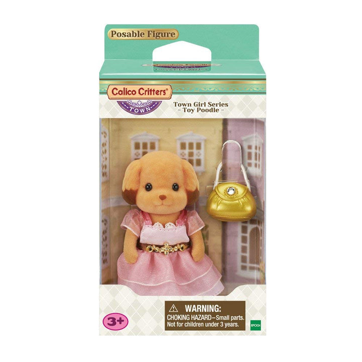 Calico Critters Town Girl Laura Toy Poodle