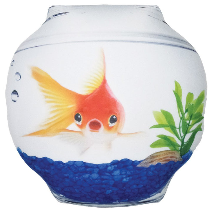 Iscream Goldfish Bowl Microbead Pillow