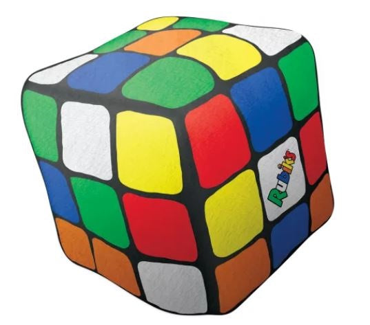 Iscream Mini Rubik's Cube Bubblegum Scented Pillow