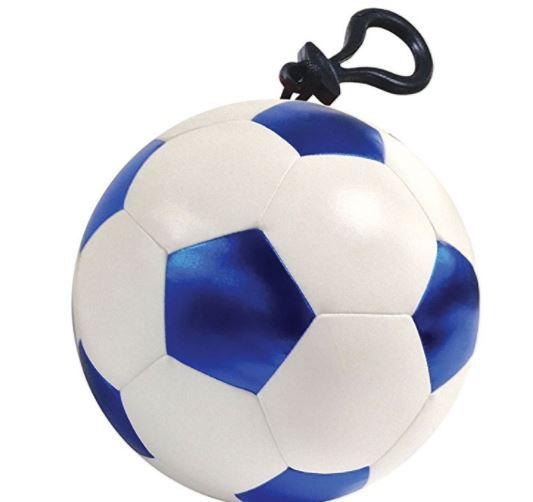 Game On! Bubble Gum Scented Soccer Ball Mini Microbead Pillow Keychain