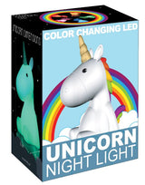 Unicorn LED Color Changing Nightlight