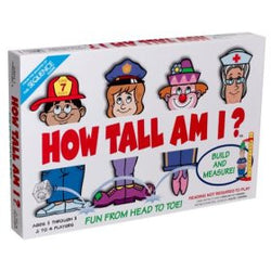 Jax How Tall Am I? Board Game