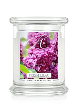14.5oz 2 wick Classic Candle: Fresh Lilac