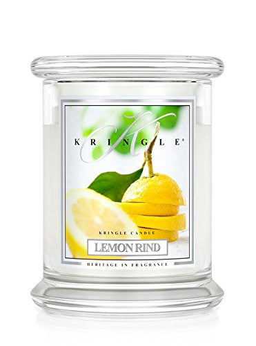 14.5oz 2 wick Classic Candle: Lemon Rind