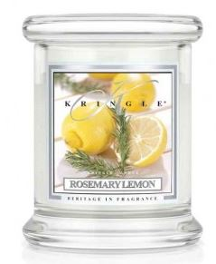 4.5 oz Small Classic Jar: Rosemary Lemon
